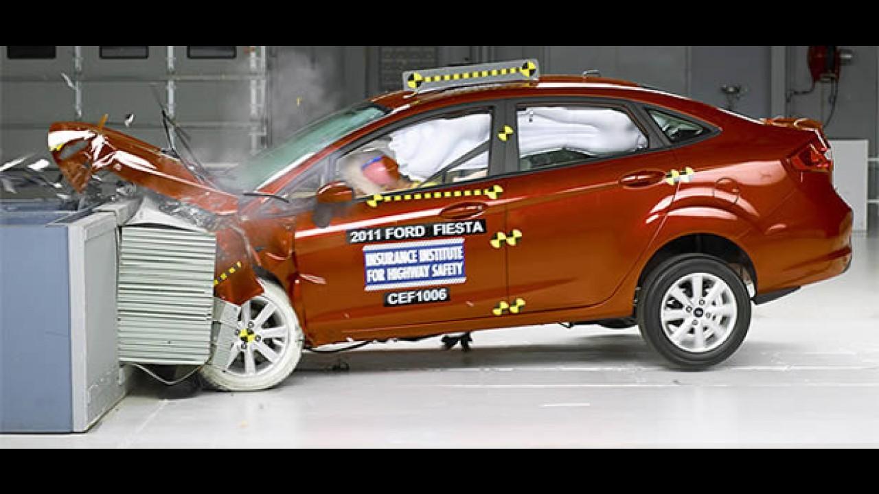 Vídeo: New Fiesta é aprovado em crash test
