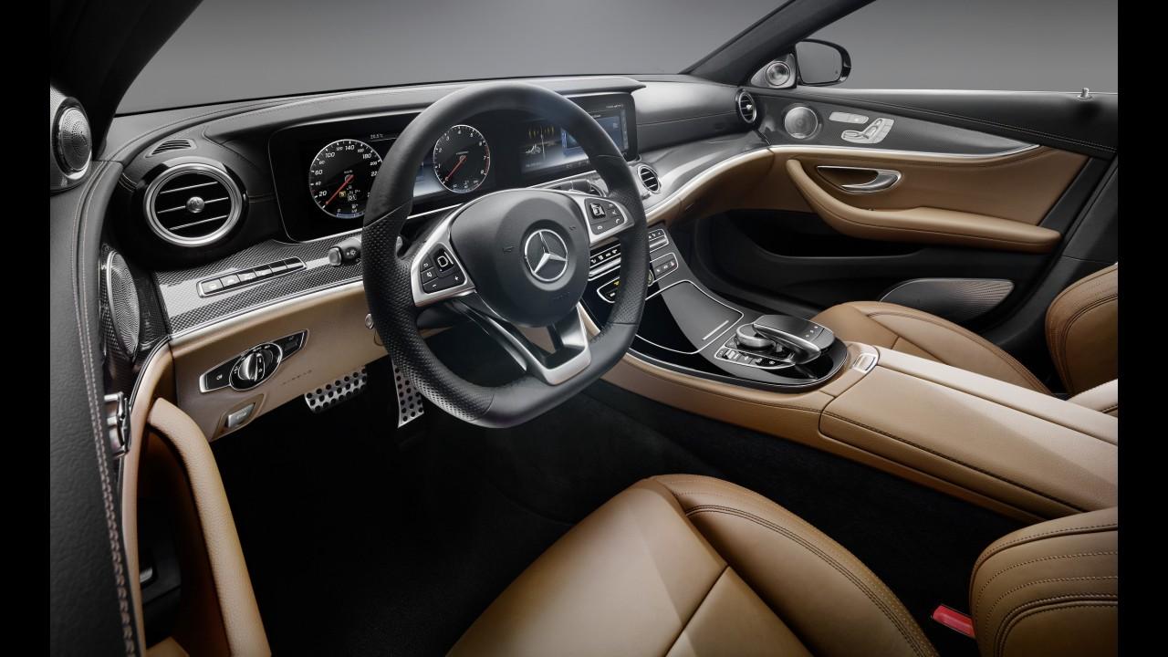 Novo Classe E: Mercedes revela interior com forte inspiração no Classe S