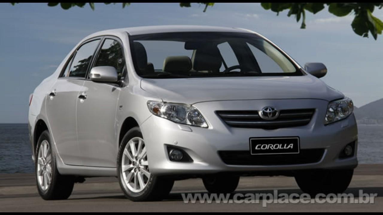 Recall do Toyota Corolla envolve 107 mil carros no Brasil- Confira o chassis