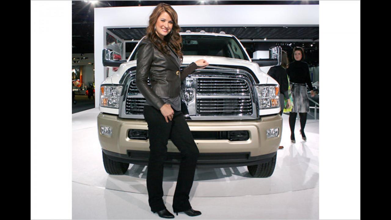 In Amerika sind nicht nur harte Jungs von fetten Trucks begeistert