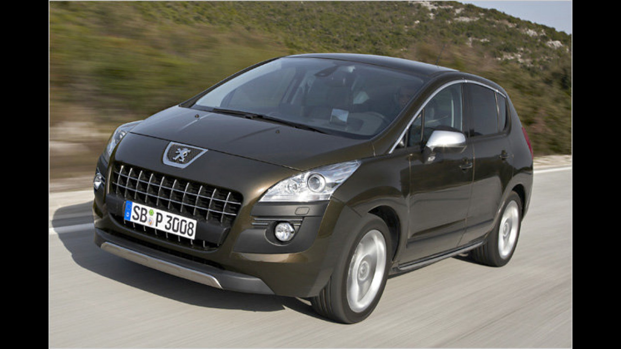Peugeot 3008 HDi FAP 110 Tendance EGS6