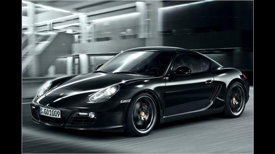 Mehr drin und mehr dran: Porsche Cayman S Black Edition