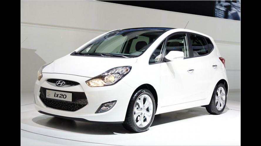Hyundai-Neuheiten: Vom Kleinstwagen bis zum Coupé