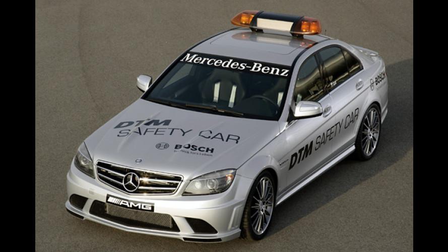 Rennstreckentauglich: Das Mercedes C 63 AMG Safety Car