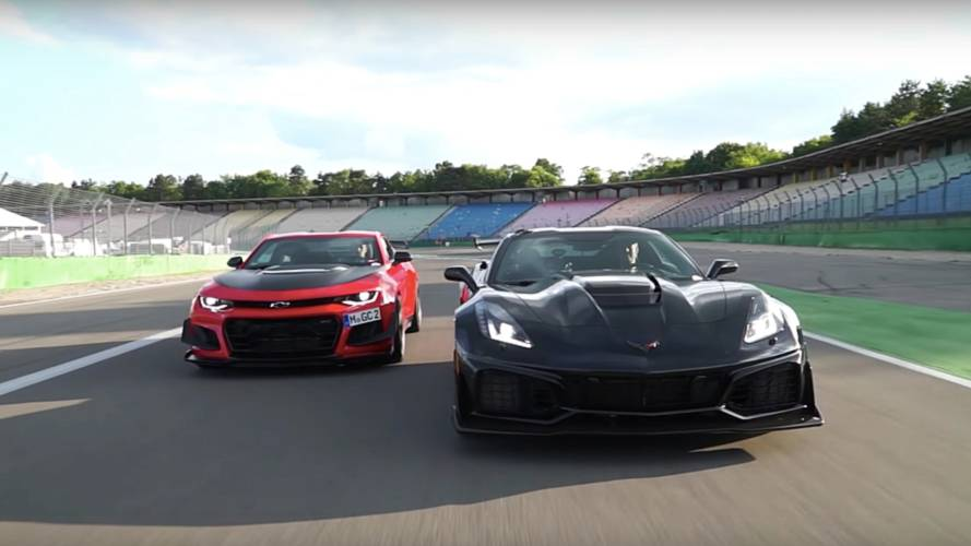 Chevy Corvette ZR1 Vs. Camaro ZL1 LE