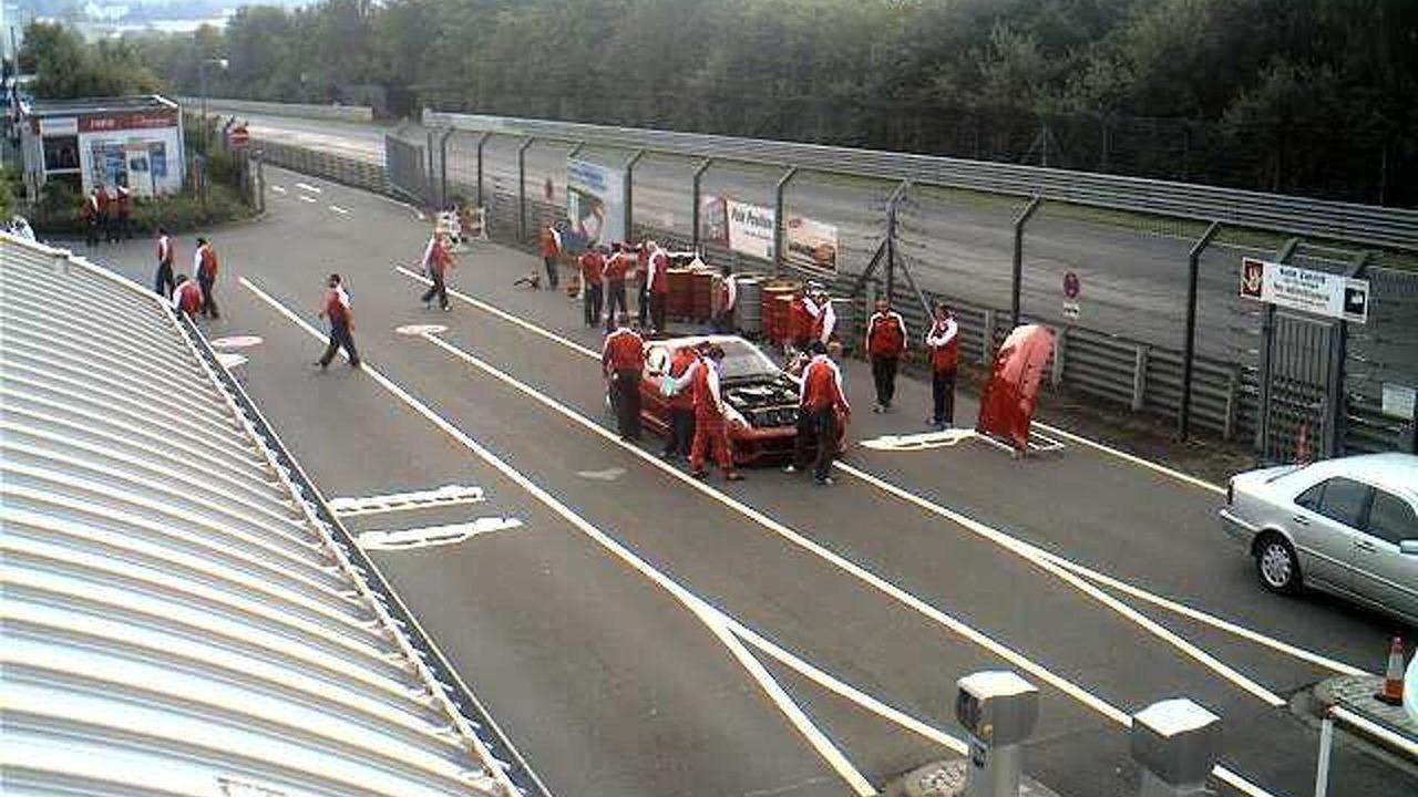 Ferraris on Nurburgring Nordschleife during Ferrari driving event, 640, 28.07.2010
