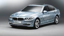 BMW Concept 5 Series ActiveHybrid first photos 26.02.2010