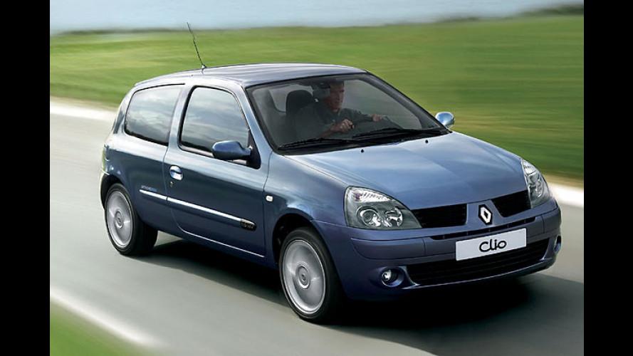 Kampfpreis-Clio: Alte Baureihe gibt es bereits für 8.950 Euro