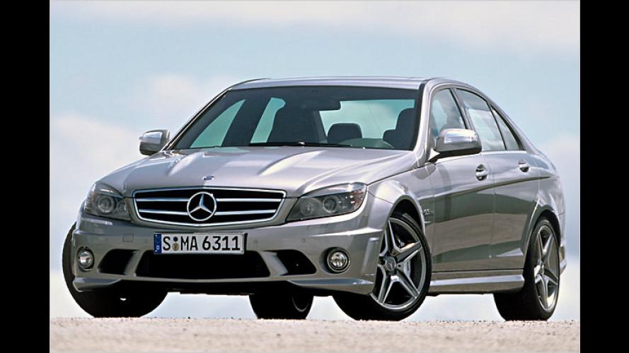 Mercedes C-Klasse im Rennstrecken-Trimm: Der C 63 AMG