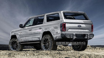 Ford Bronco Render