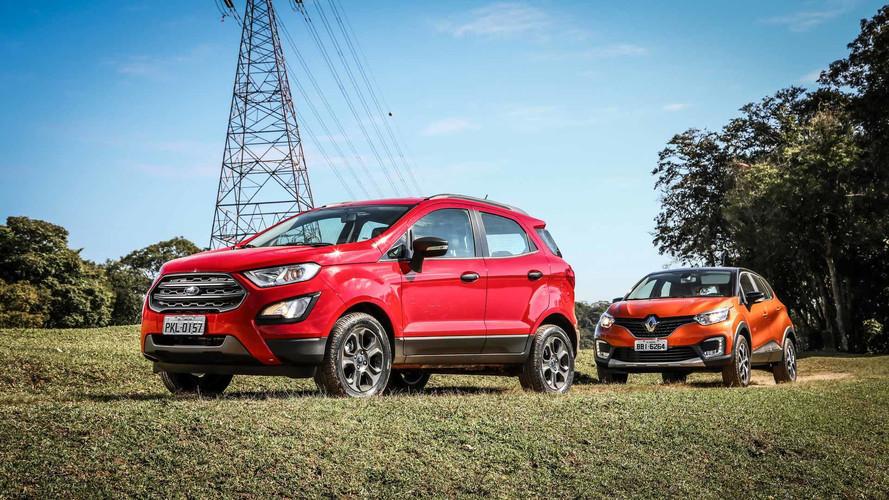 Semana Motor1 - Novo EcoSport x Captur, Latin NCAP, SUVs VW e mais!