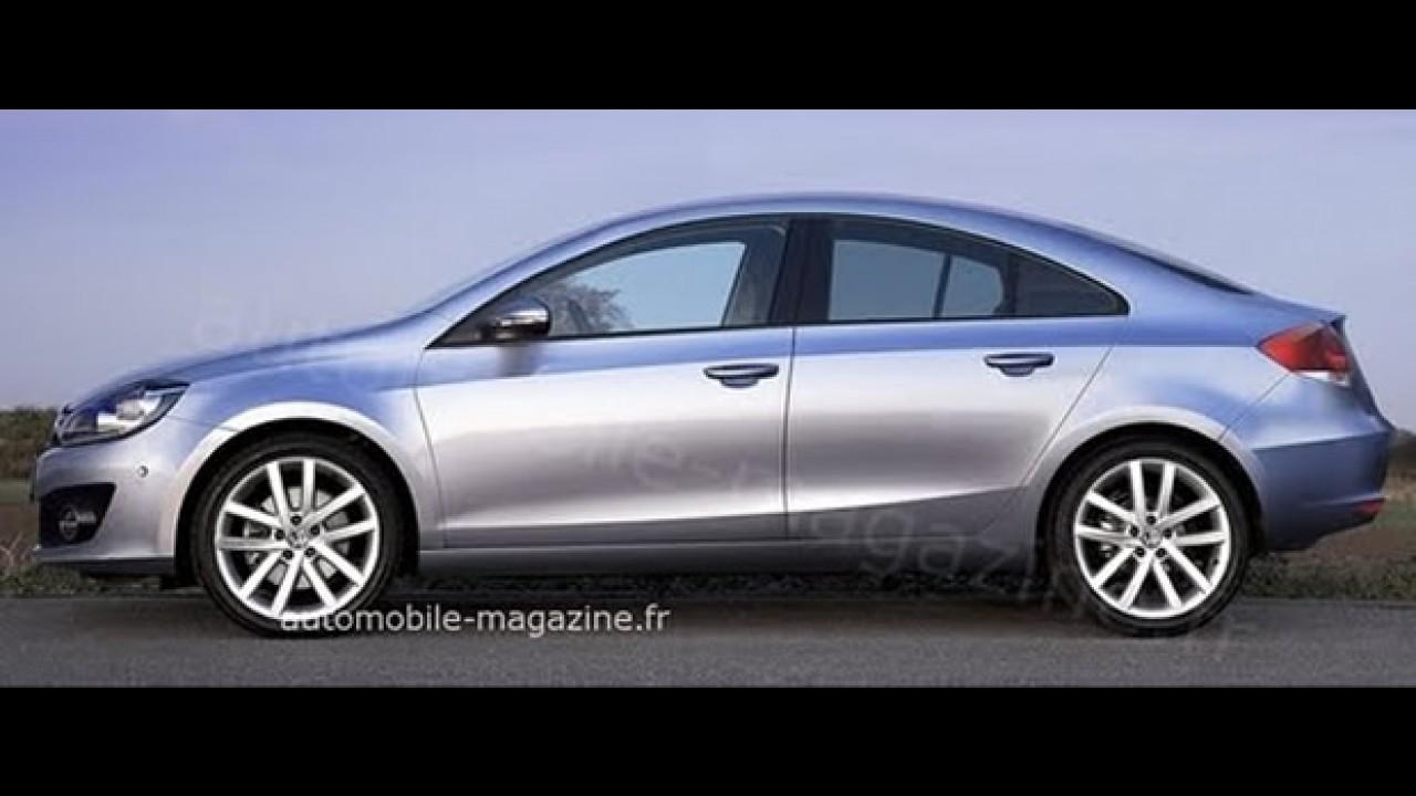 Novo Jetta VI - Nova geração pode ser mostrada em Frankfurt em versão Coupé de 4 portas