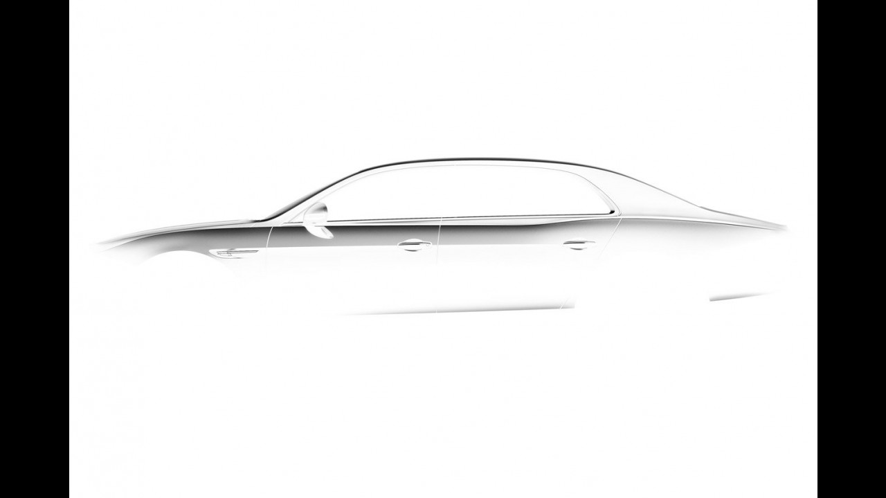 Bentley Continental Flying Spur restyling - Teaser