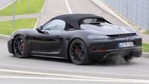 Porsche 718 Boxster Spyder fotos espía