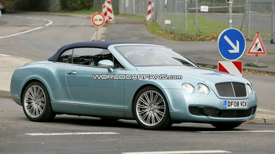 Bentley Continental GTC Speed Spy Photos